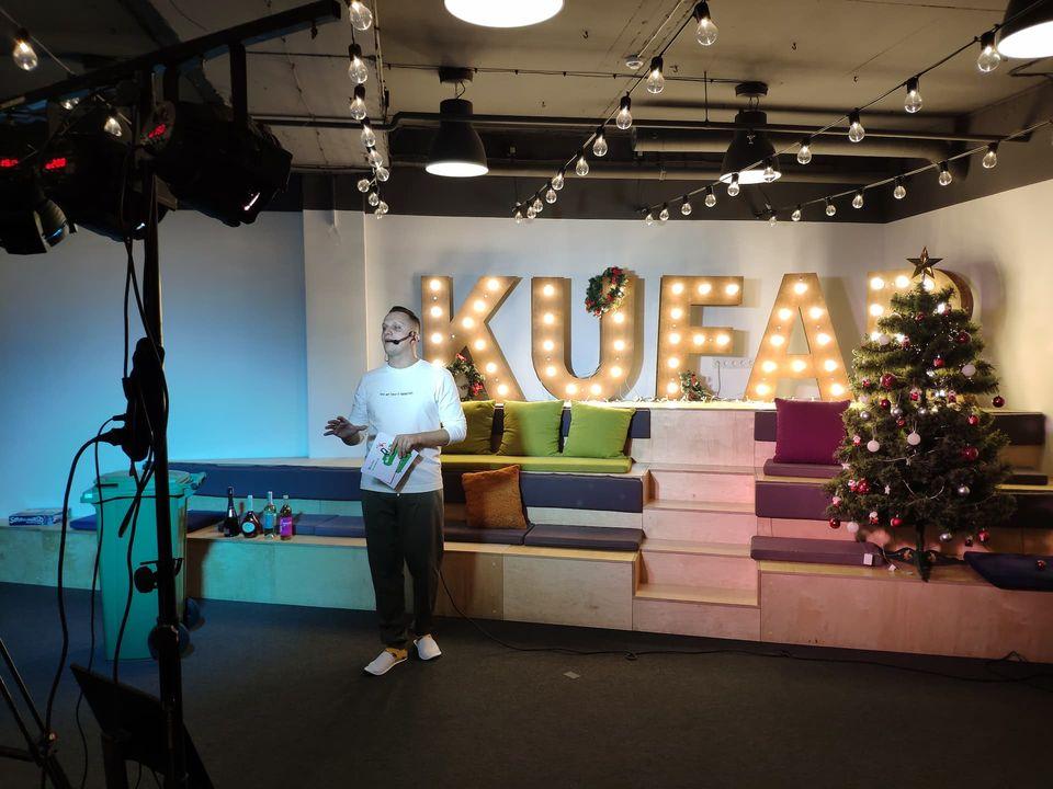гибридное мероприятие для компании KUFAR